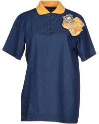 Andrea Incontri Denim Shirt - Lyst