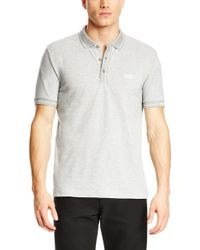 Boss Green Paule  Slim Fit Moisture Manager Stretch Cotton Blend Polo Shirt - Lyst