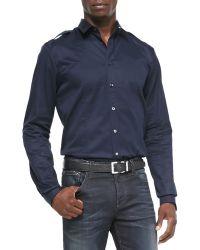 Gucci Twill Duke Shirt - Lyst