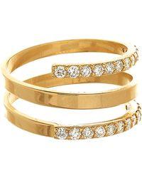 Lana Jewelry 14K Mirage Rock Diamond Ring - Lyst