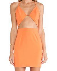 AQ/AQ Informa Mini Dress - Lyst