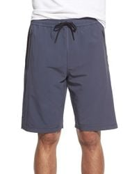BPM Fueled by Zella - 'graphite' Moisture Wicking Woven Athletic Shorts - Lyst