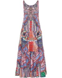 Camilla Trek Of The Nung Tiered Maxi Dress multicolor - Lyst
