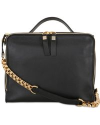 Giancarlo Petriglia - Clary Mirror Embellished Leather Bag - Lyst