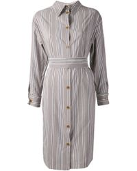 Vivienne Westwood Striped Shirt Dress - Lyst