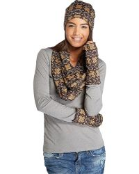 Threads For Thought - Snowflake Fingerless Gloves - Lyst