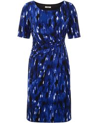 Precis Petite Brushstroke Print Dress - Lyst