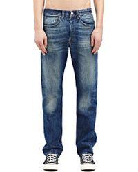 Levi's New Season - Levi'S Vintage Mens Straight Fit 1947 501 Horizon Raw Washed Selvedge Denim Jeans - Lyst