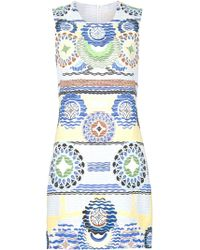 Peter Pilotto | Printed Shift Dress | Lyst