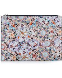 Tabitha Simmons Dizzy Small Printed Pouch - Lyst