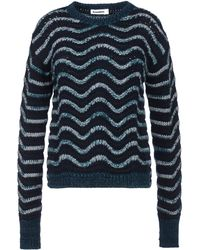Jil Sander Cashmere-Mohair Pullover - Lyst