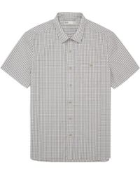 Onassis Clothing Short Sleeve Check Shirt - Lyst