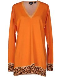Just Cavalli Long Sleeve Jumper - Lyst