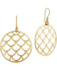 John Hardy Naga 18k Gold Wired Drop Earrings - Lyst