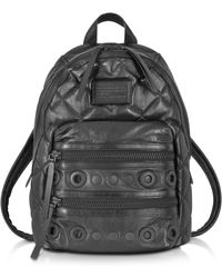 Marc By Marc Jacobs - Domo Biker Leather Backpack With Grommets - Lyst