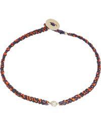 Scosha - Woven Diamond Bracelet - Lyst