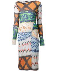 Vivienne Westwood Anglomania 'Taxa' Mesh Dress - Lyst