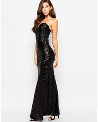 TFNC | Showstopper Sequin Maxi Dress | Lyst