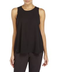 Olivaceous - Sleeveless Hi-Low Blouse - Lyst