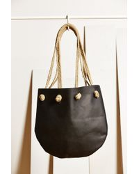 Cold Picnic - Leather + Hemp Tote - Lyst