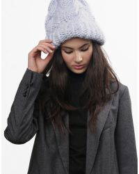 Wool And The Gang Moonhead Beanie - Lyst