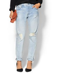 Levi's Customized 501 Jeans - Lyst