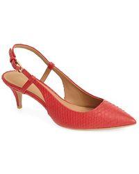 Calvin Klein Women'S 'Patsi' Slingback Pointy Toe Pump - Lyst