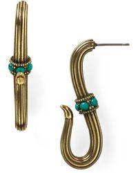 Giles & Brother Serpant Hook Earrings - Lyst