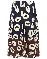 Whistles | Marisa Loop Print Culottes | Lyst