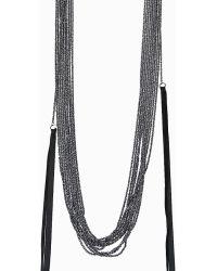 Goti Chain Necklace With Diamonds - Lyst
