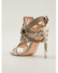 Ivy Kirzhner - Valentin Cutout Sandals - Lyst