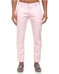 DSquared2 Stretch Cotton Tennis Pant - Lyst