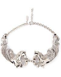 Roberto Cavalli Horses Necklace - Lyst