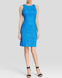 Sue Wong Dress - Sleeveless Soutache Sheath - Lyst
