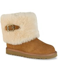 Ugg Ellee Pull-on Boots with Buckle Accent - Lyst