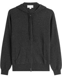 TSE - Cashmere Zipped Hoodie - Grey - Lyst