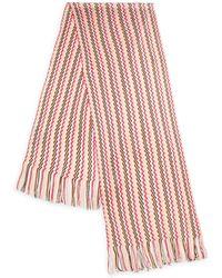 Missoni Wave Striped Scarf - Lyst