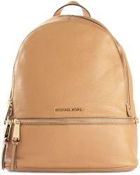 MICHAEL Michael Kors Zip Detail Backpack - Lyst