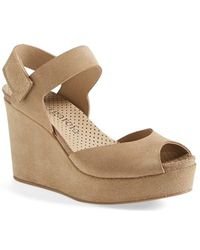 Pedro Garcia Women'S 'Molly' Wedge Sandal - Lyst