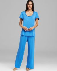 Midnight By Carole Hochman Magic Moment Pajama Set - Lyst