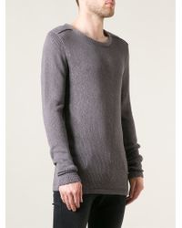 Odeur - 'skew' Knit Sweater - Lyst
