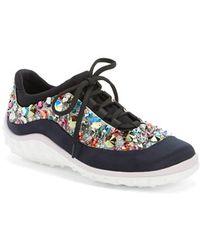 Miu Miu Jeweled Sneaker multicolor - Lyst