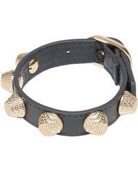 Balenciaga Giant Gold Bracelet Stud - Lyst