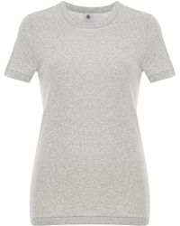 Petit Bateau Essential Short Sleeve Cotton Tee - Lyst