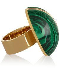 Chloé Ellie Gold-tone Stone Ring - Lyst
