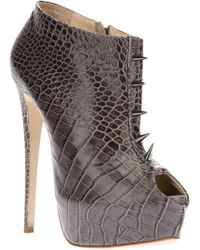 Ruthie Davis - Stiletto Ankle Boot - Lyst
