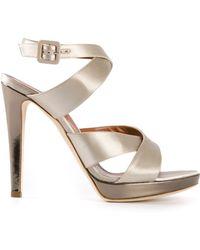 Alberta Ferretti Strappy Sandals - Lyst