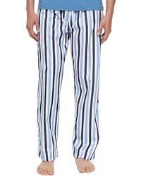 Derek Rose Windsor Striped Pajama Pants - Lyst