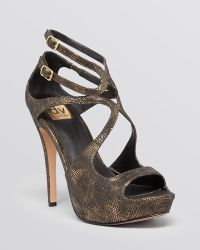 Dv By Dolce Vita Platform Evening Sandals - Brielle High Heel - Lyst