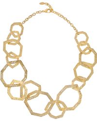 Isharya - Link Statement Goddess Necklace - Lyst